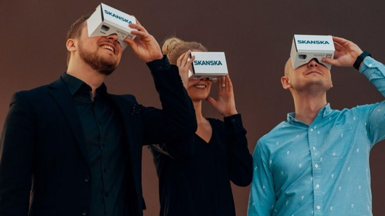 Skanska, jako první developer vČechách, začala využívat virtuální realitu vnabídce komerčních budov a nových bytů