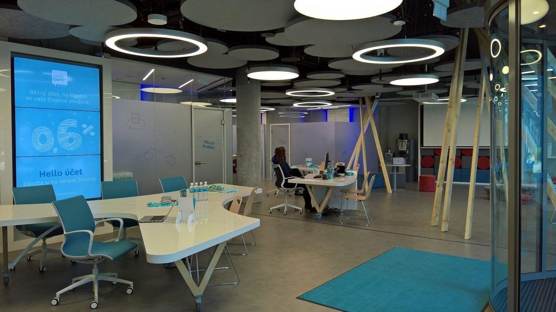 Expandující Hello bank! získala i díky BNP Paribas Real Estate dva nové reprezentativní prostory