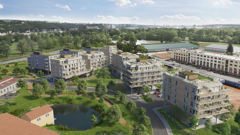 Linkcity zrevitalizuje areál bývalých bubenečských papíren vPraze 6 a postaví zde 200 nových bytů
