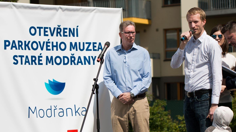 V Rezidenci Modřanka byla slavnostně otevřena nová část Parkového muzea, zve na exkurzi do historie Modřan