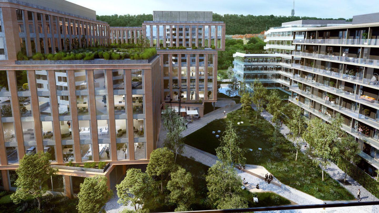 V Praze do pěti let přibude téměř 1 milion metrů čtverečných nových kanceláří