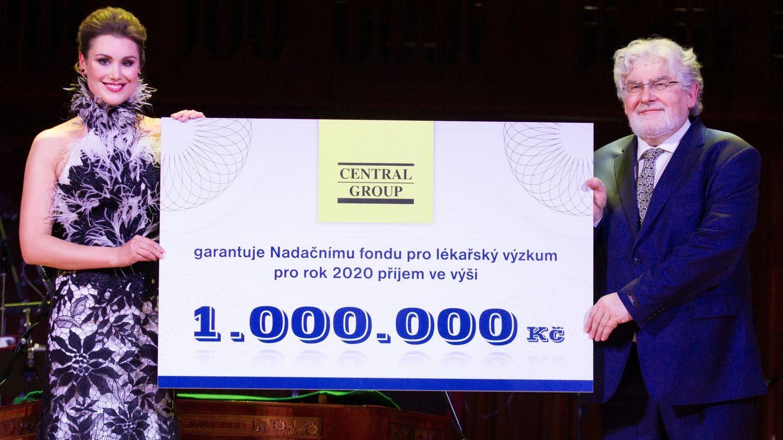Nadační fond pro zdraví dětí se osvědčil. Central Group proto zakládá nový Nadační fond pro lékařský výzkum ve prospěch FN v Motole