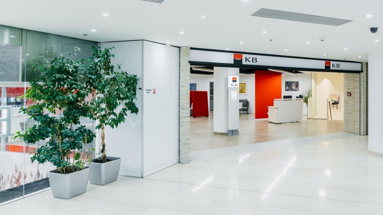 Komerční banka otevřela první designovou pobočku – v Myslbeku Na Příkopě