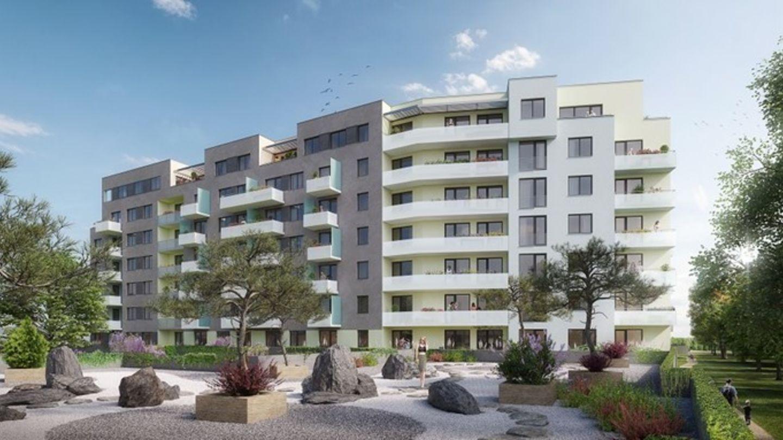 Stavba 160 moderních bytů v Hodkovičkách bude dokončena ještě letos, v nabídce zbývají už jen tři poslední byty