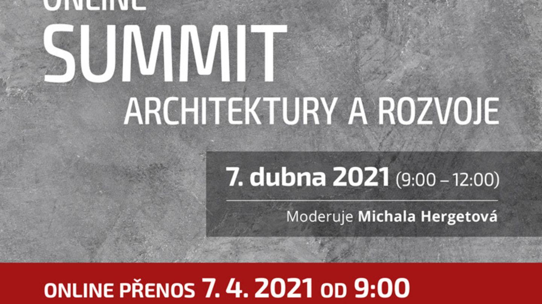 Krátká videoreportáž a hlavní závěry a názory ze Summitu architektury a rozvoje