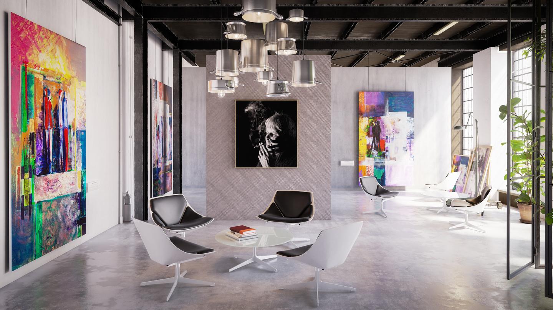 Umění v pracovním prostoru. Přispívá kreativnímu myšlení?