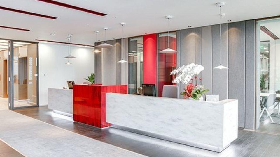 Kancelářské prostory pro 5 až 6 osob.